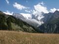 Glacier de Bionnassay et Col de Voza