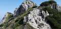 Arrivée au sommet du Maly Rozsutec