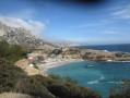 La traversée du Parc National des Calanques de Cassis à Marseille