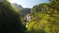 Cascade d'Ars vu de drone