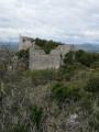 Le Château d'Allègre à partir des Fumades