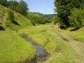 Chemin dans la vallée menant à Runcu-Salvei