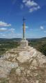 Croix au sommet du Mont Avril