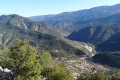 Sur les flancs du Mont Long entre Cuébris et Roquestéron