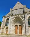 Façade de l'église St Sulpice