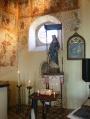 Forêt, église Ste Catérine: peintures à la détrempe