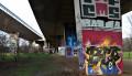 Galerie d'art sous l'autoroute