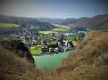 La vue sur la valée de la Meuse