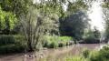 Le Molenbeek à la hauteur du Parc Roi Baudouin
