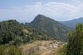 Le Pic de Fourneuby depuis le chemin de crete