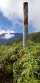 Le pluviomètre du pic vert