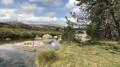 Le Pont du Tarn par le hameau de l'Hôpital
