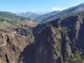 Les Gorges, la route de Villeplane