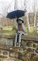 Petit garçon au parapluie