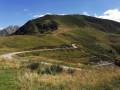 Pic de Freychet depuis le Col d'Escots