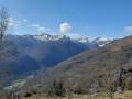 Sommet du Mont et Roche Ronde depuis Saurat