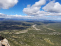 Pic St-Loup vue N/O depuis le sommet