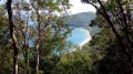 Point de vue sur la plage de Grande Anse