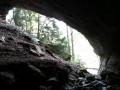 Porche d'entrée de la grotte