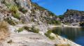 Grosse Pierre, Saut du Loup et la corniche des Gorges de l'Ardèche