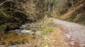 Sentier qui longe la rivière