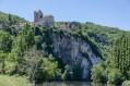 Les berges du Lot à Saint-Cirq-Lapopie