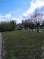 vu sur l'eglise depuis le parc en fin de randonnée