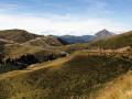 Vue depuis la route du retour après le virage de retour vers le col d'Escot