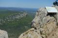 Vue depuis le Pic St Loup