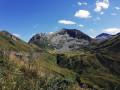 Vue en début de descente du Pic de Freychet