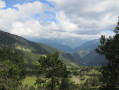 vue sur la vallée d'Arinsal
