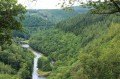 Vue sur la vallée de l' Ourthe