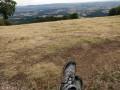Vue sur la vallée depuis Bibracte