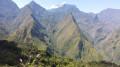 Vue sur Mafate du sommet Verre Bouteille