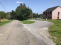 Croisement route Villers-en-fagne vers Merlemont et l'entrée du lotissement